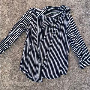 Lauren Ralph Lauren stripped button down shirt